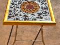 Small Gold Frame Table