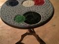 small circles table